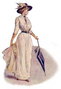 A Victorian lady