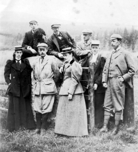 Photograph of The Upcher Family